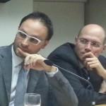 da sx Guido Bortoluzzi, Andrea Tracogna