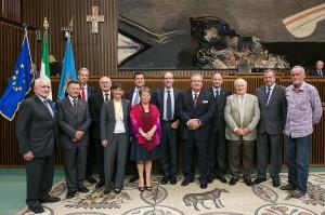 autorità FVG e premiati dell'Ente Friuli nel Mondo