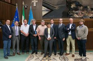 autorità FVG e premiati dell'Unione Emigranti Sloveni-Slovenci Po Svetu